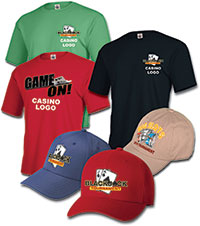 Slot & BlackJack Tournament - Tees & Caps